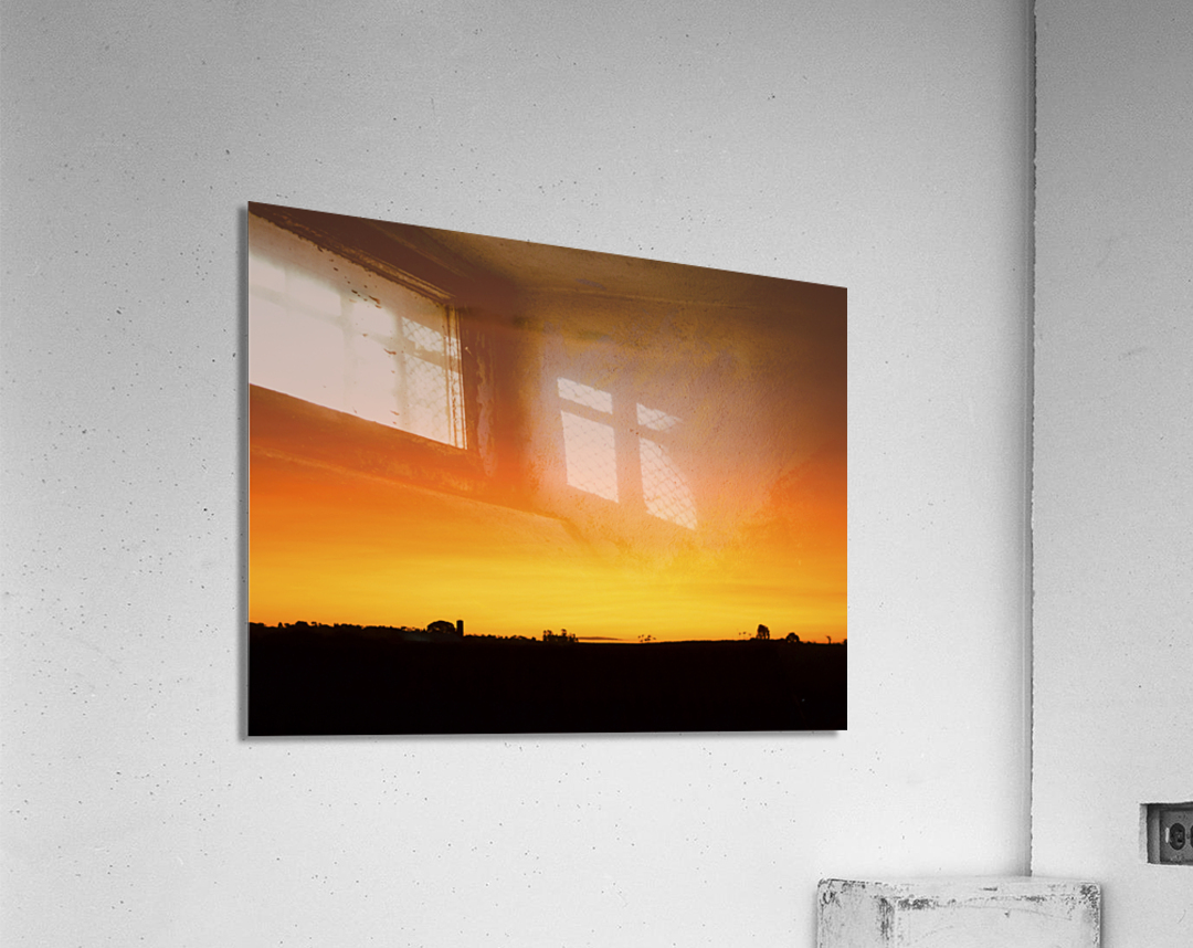 Strong Colours at the End of a Day  Acrylic Print