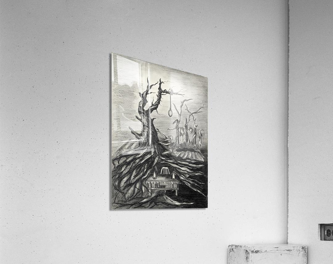 RA 011 - סעודה אחרונה  Acrylic Print