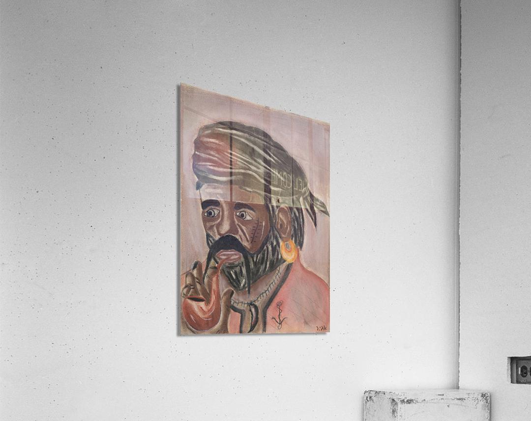 RA 004 - פיראט - Pirate  Acrylic Print