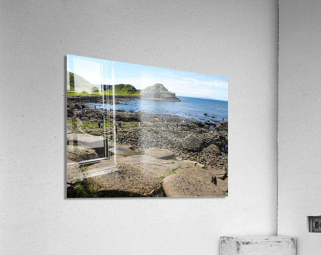 The Giants Causeway in Northern Ireland  Acrylic Print
