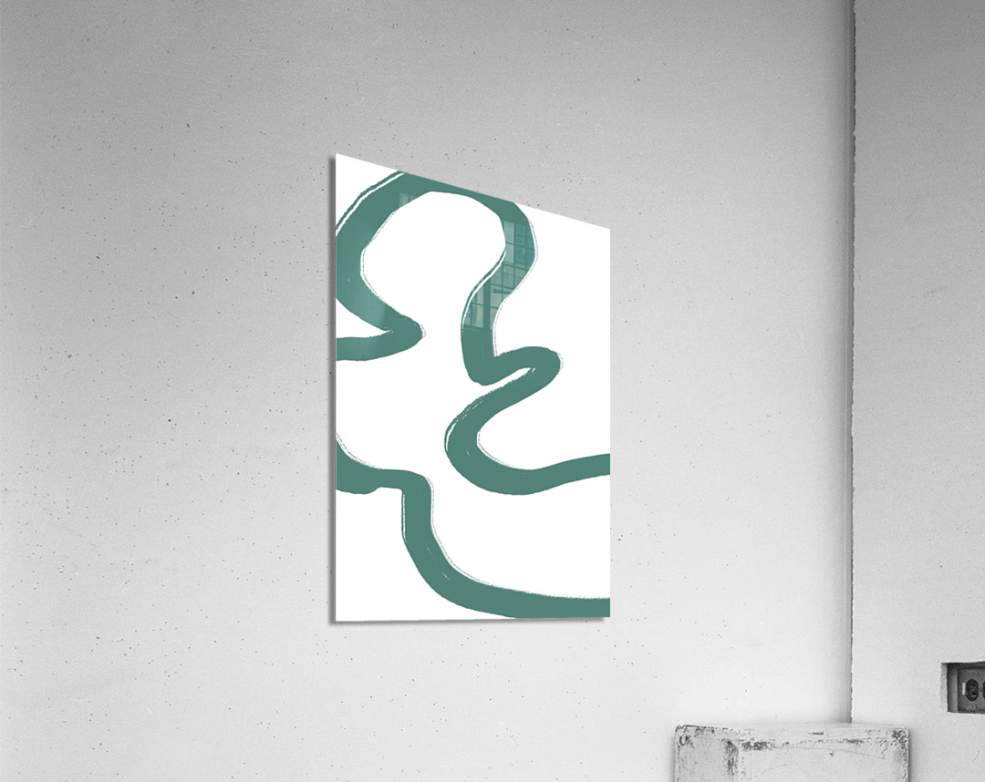 Road Green  Acrylic Print