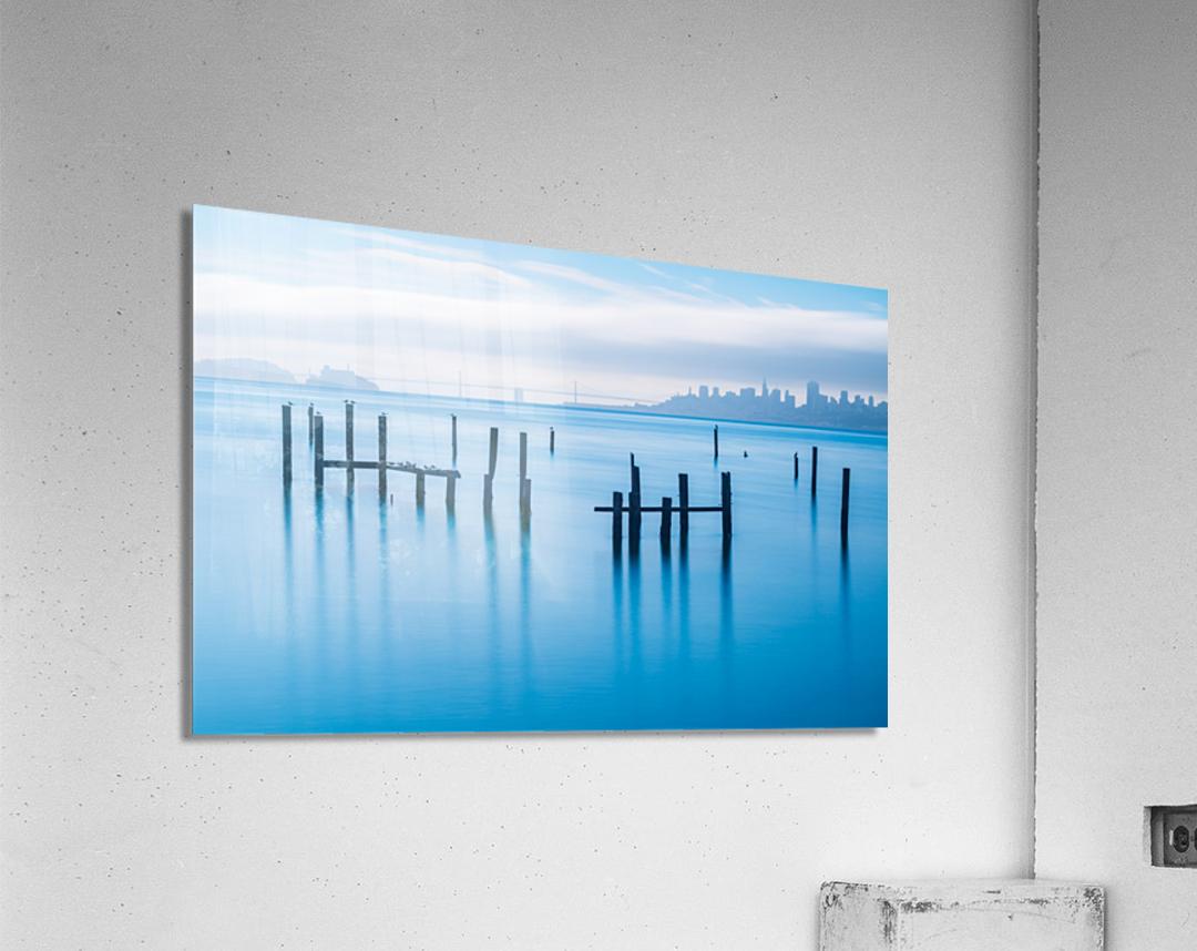 The Old Pier of Sausalito  Acrylic Print