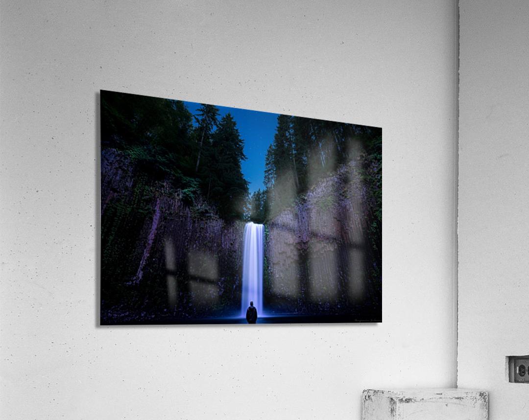 Abiqua Falls  Acrylic Print