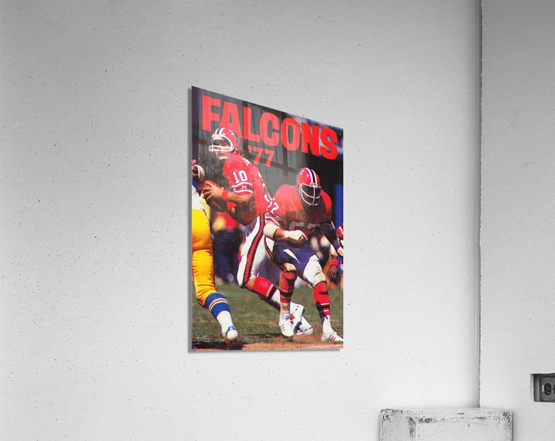 1977 Atlanta Falcons Retro Football Poster  Acrylic Print