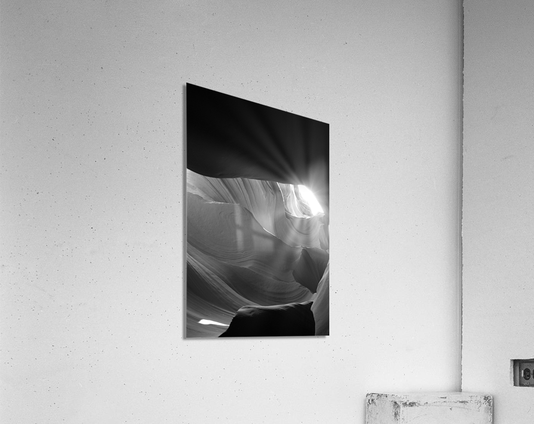 Light Cavern  Impression acrylique