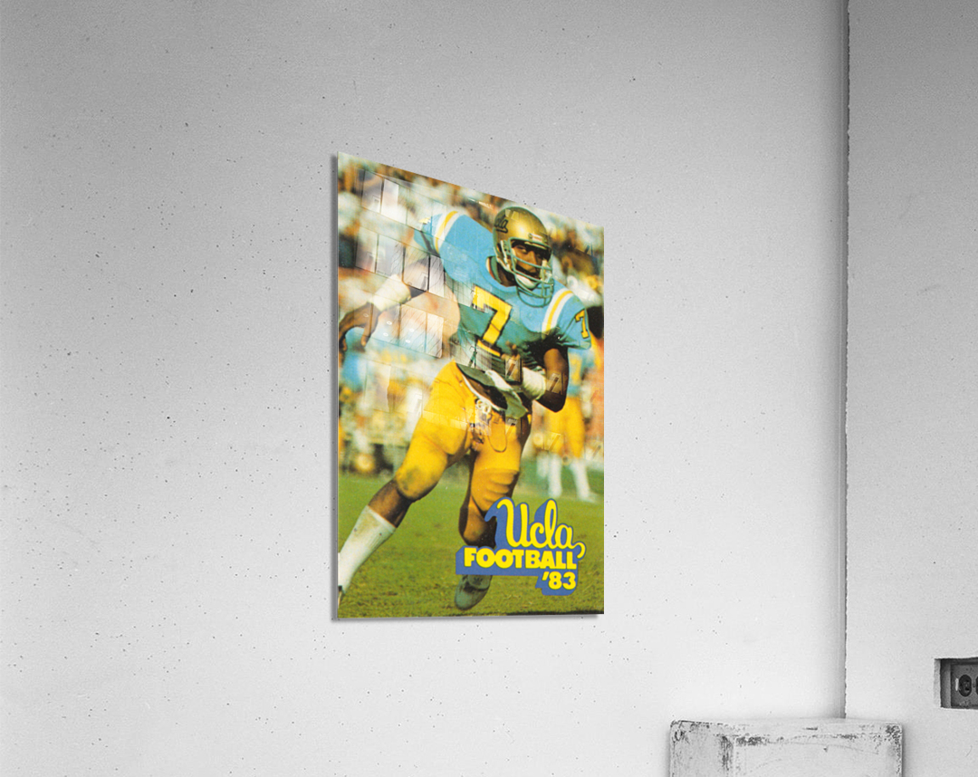 1983 UCLA Bruins Football Poster  Acrylic Print