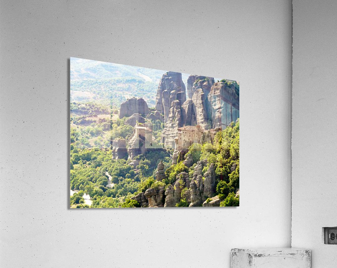 Monastery in Grece  Acrylic Print