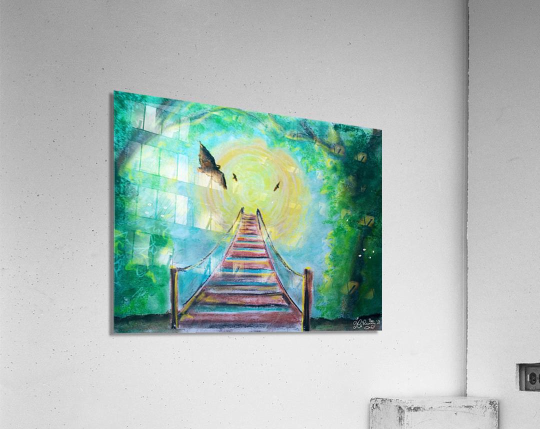 The Bridge To Next Tuesday  Acrylic Print