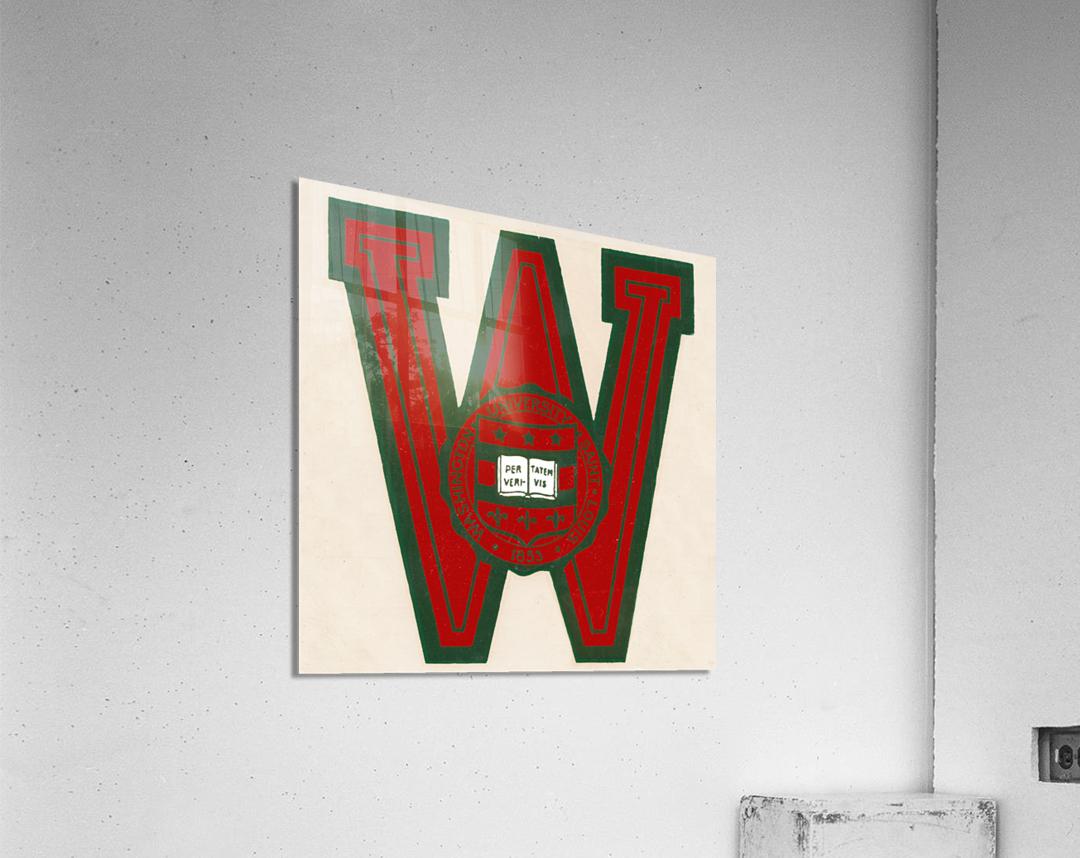 Vintage Fifties Washington University in Saint Louis  Acrylic Print