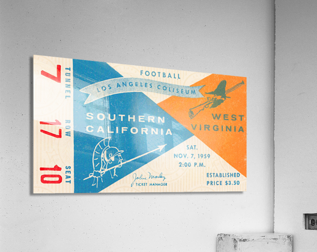 1959 USC vs. West Virginia  Acrylic Print