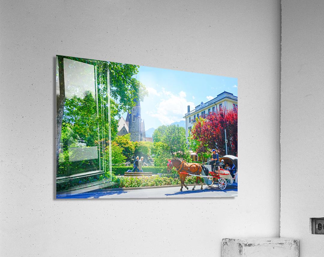 One Day in Interlaken Switzerland 1 of 3  Acrylic Print