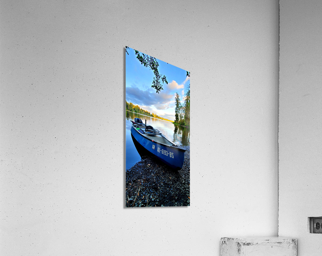 On the water  Acrylic Print