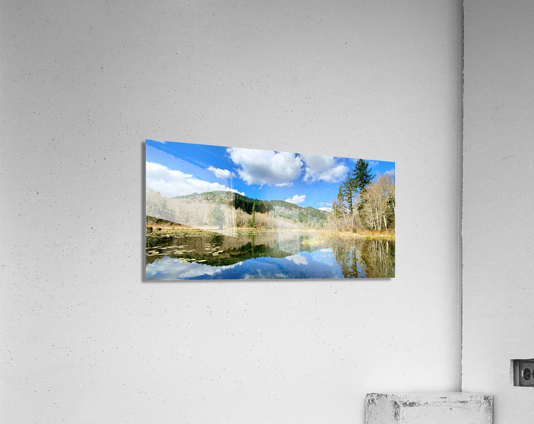 Lay of the land  Acrylic Print