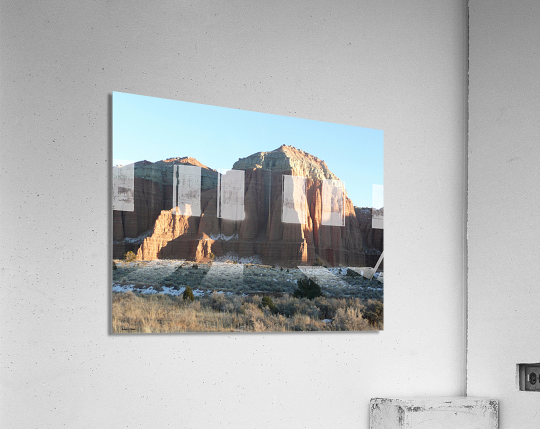 Highlights on Cathedral  Acrylic Print