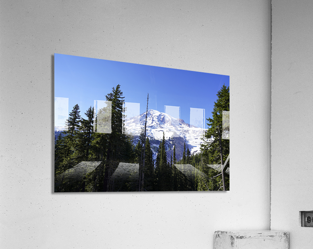Mount Rainier Pacific Northwest Washington State  Acrylic Print