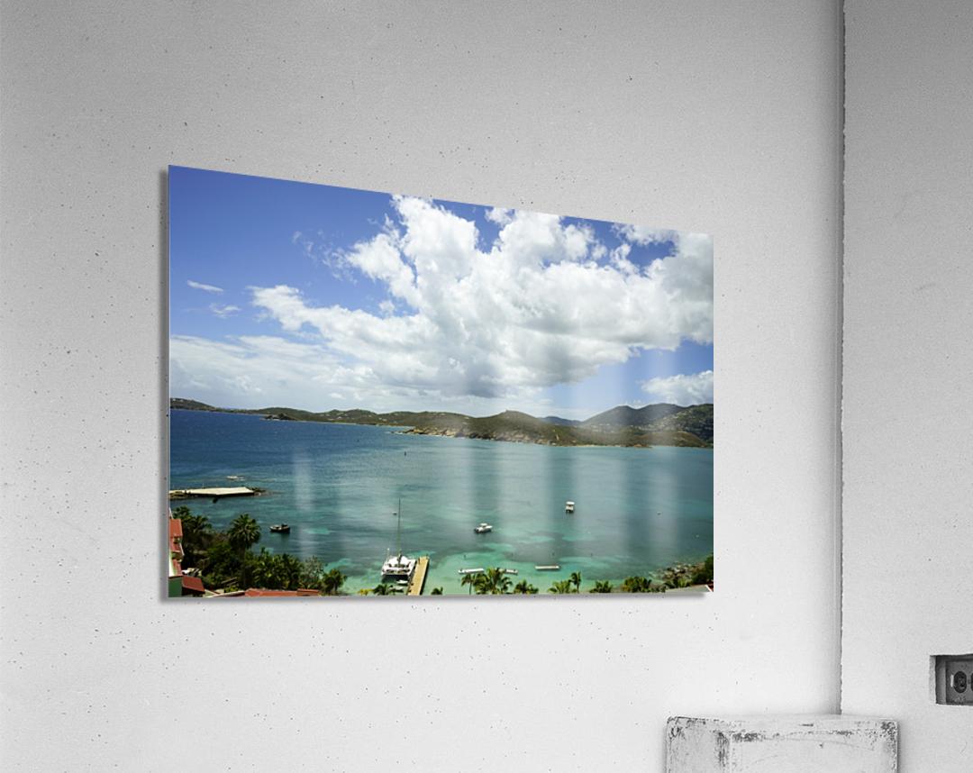 Saint Thomas in the Caribbean Islands  Acrylic Print