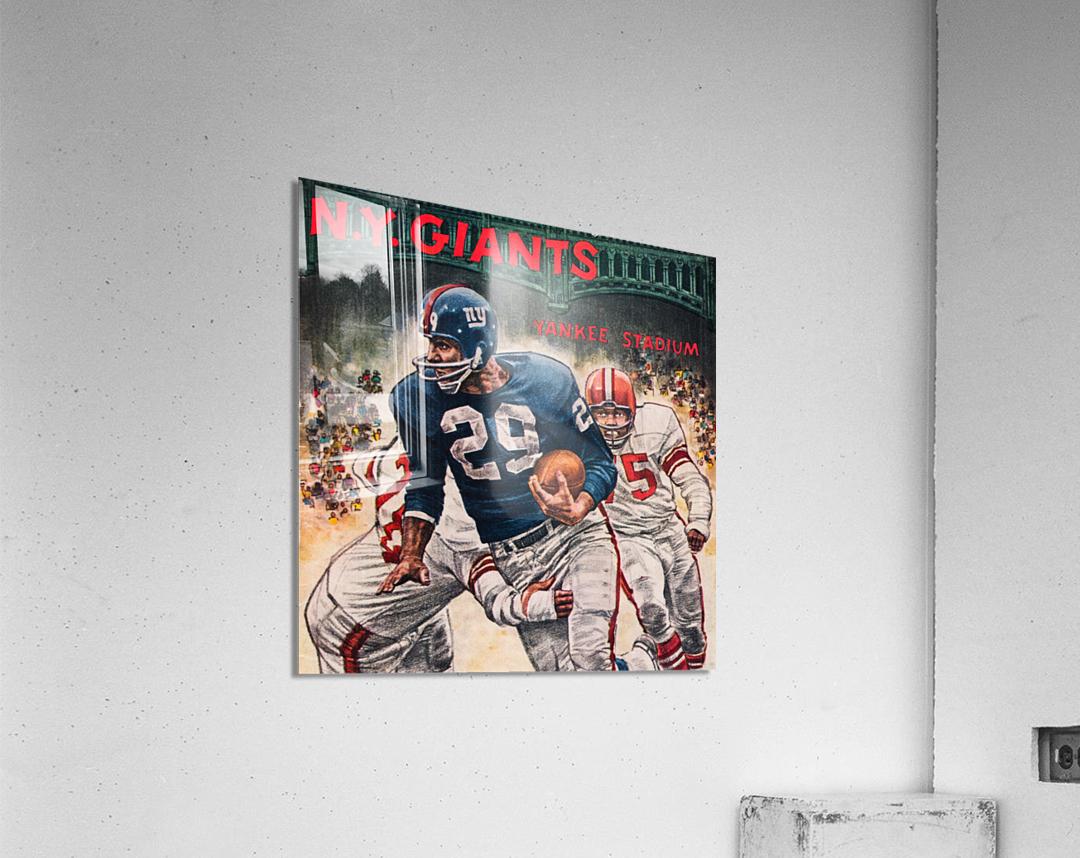 1962 Robert Riger New York Giants Art  Acrylic Print