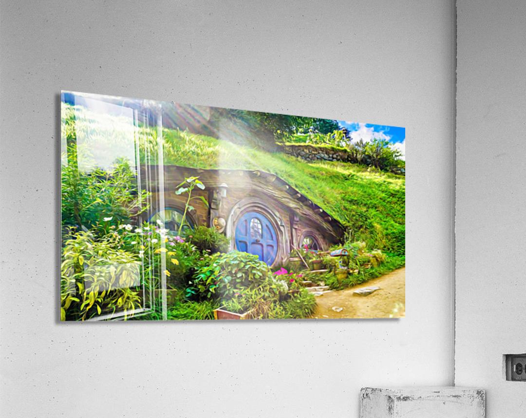 Hobbit Hole  Acrylic Print