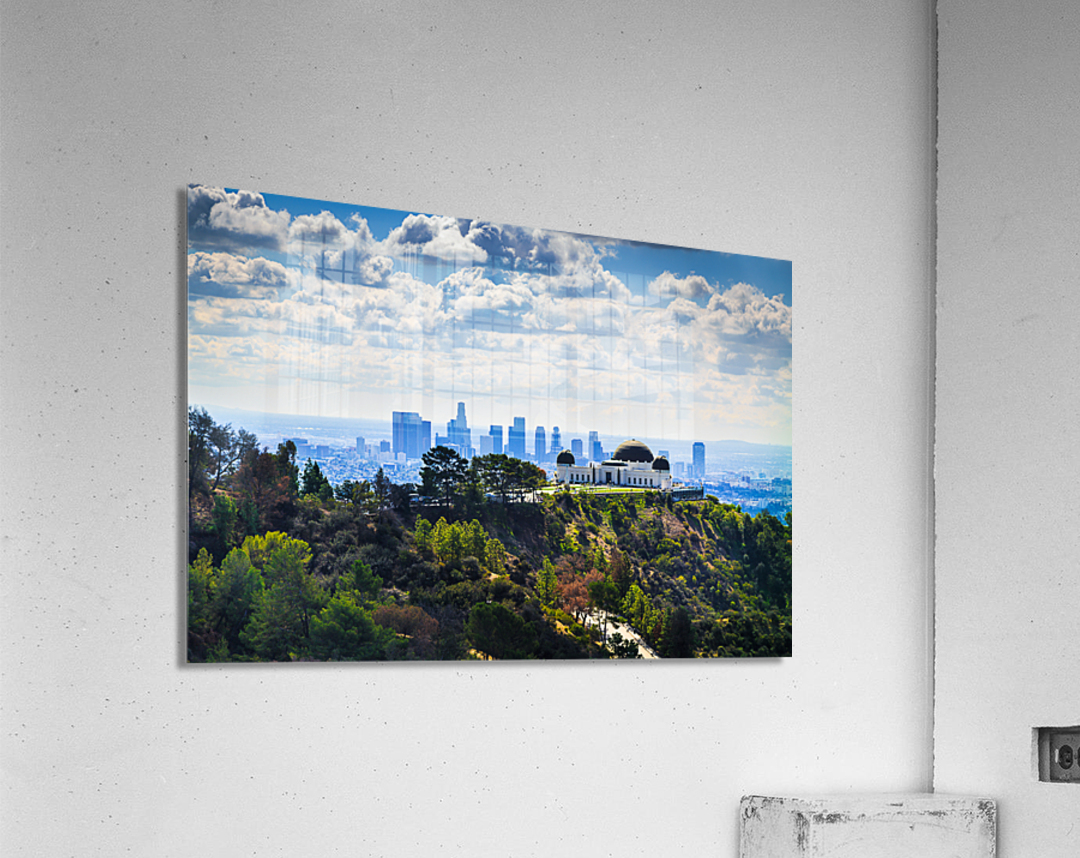 Overlooking Griffith Observatory  Acrylic Print
