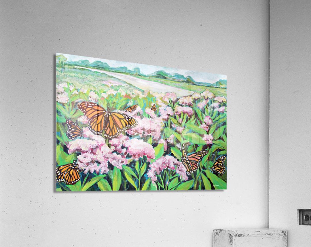 CountyMonrachButterflies  Acrylic Print