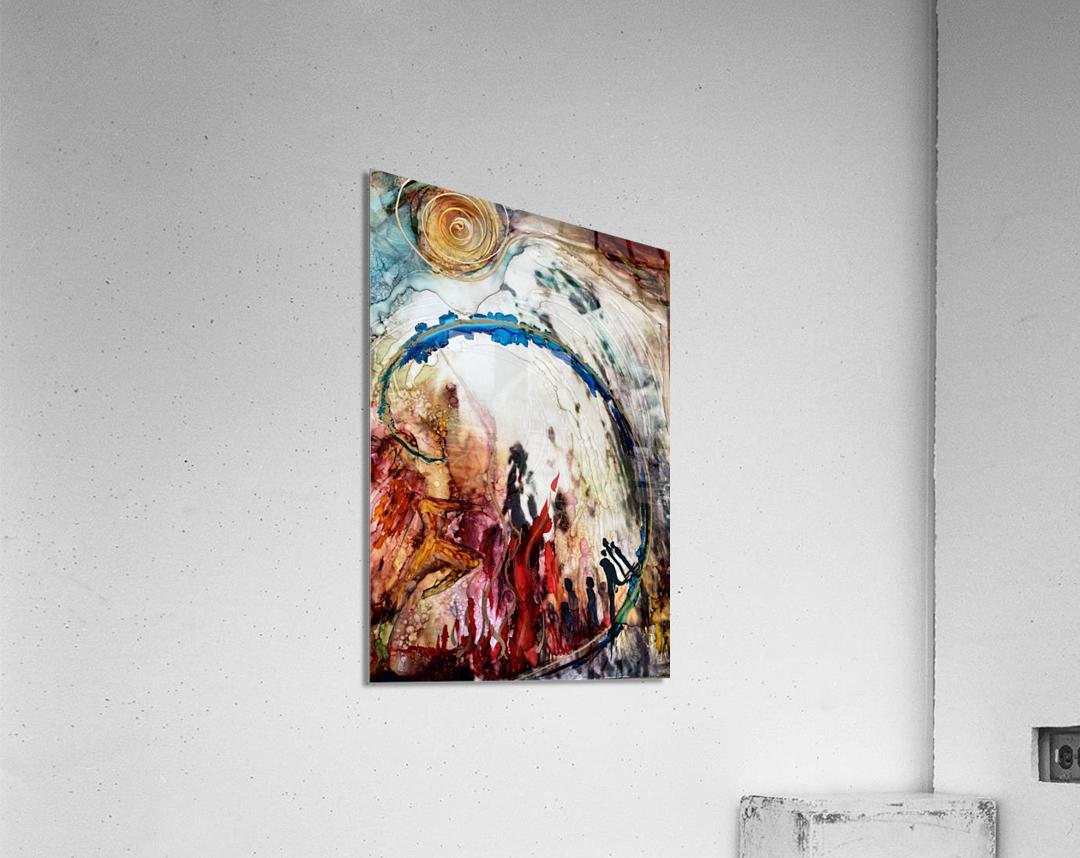 Ascension  Impression acrylique