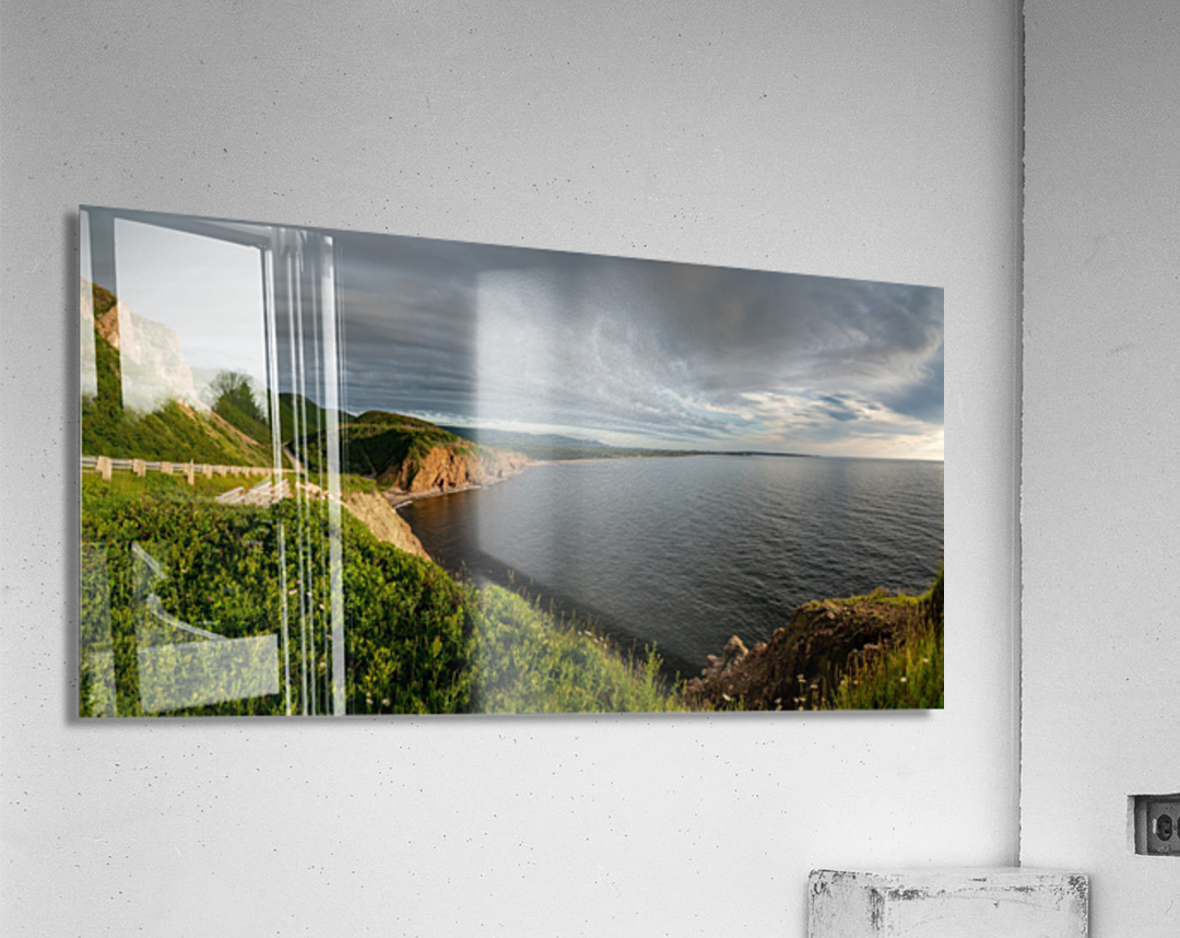 Cabot Trail View towards Cheticamp  Acrylic Print