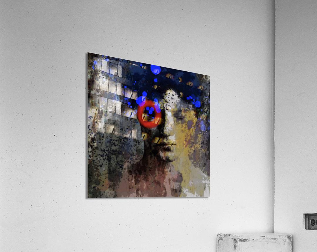 Le Cercle  Acrylic Print