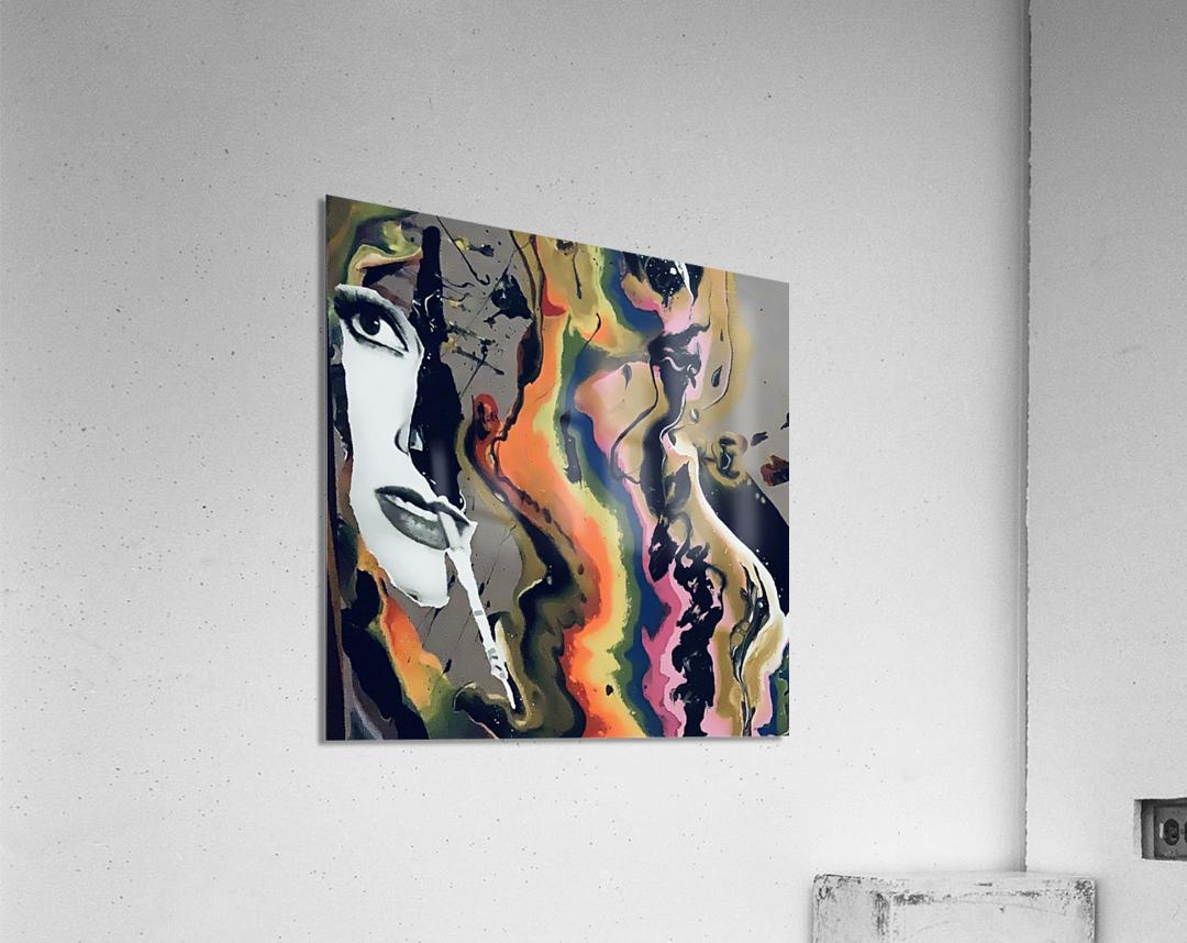 One in Vermillion  Acrylic Print