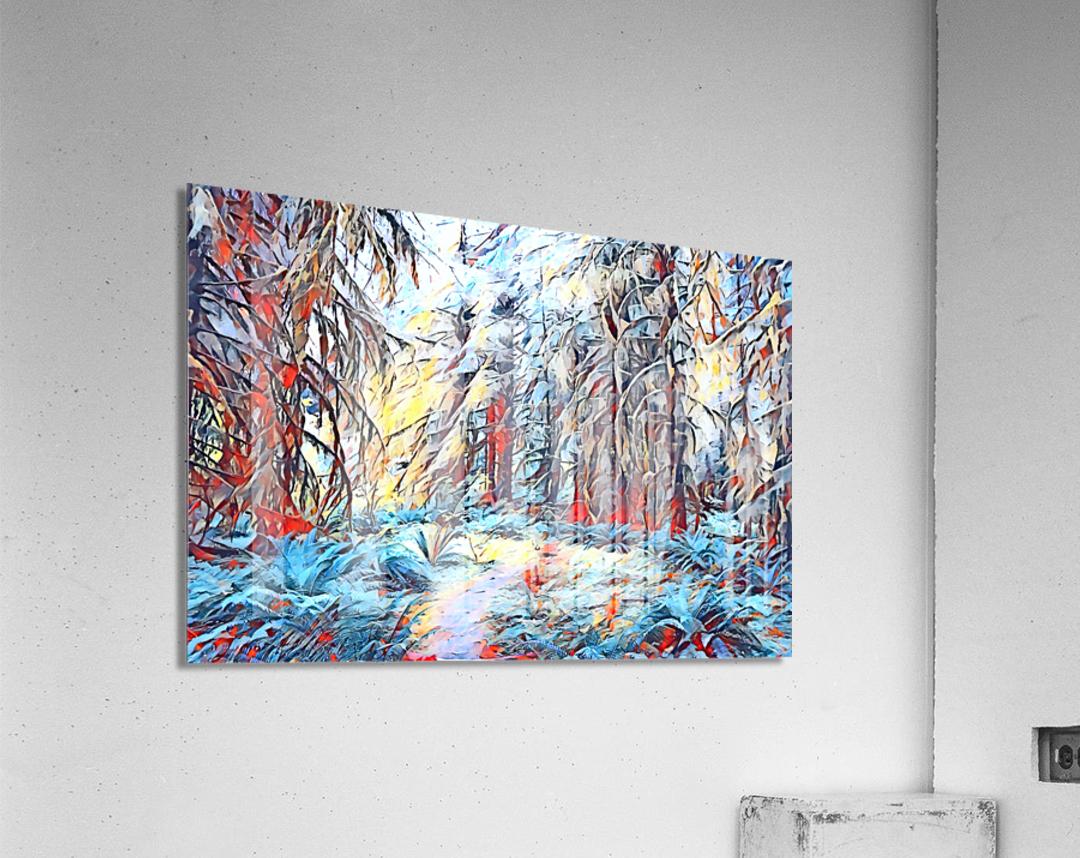 Hoh Rainforest  Acrylic Print