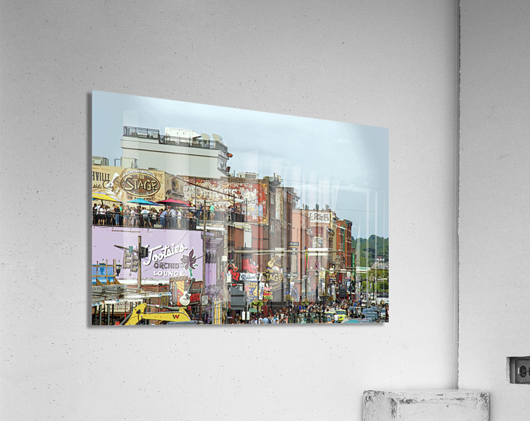 Nashville  Acrylic Print