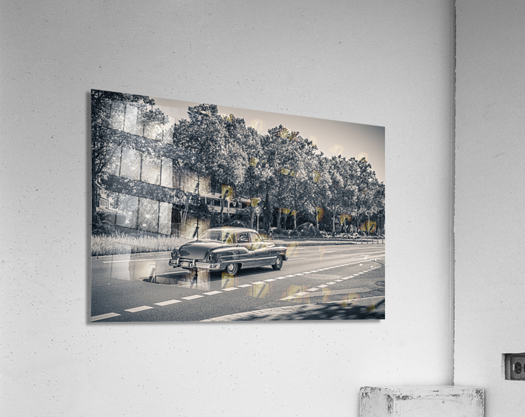 American oldtimer car from the 1950s  Acrylic Print