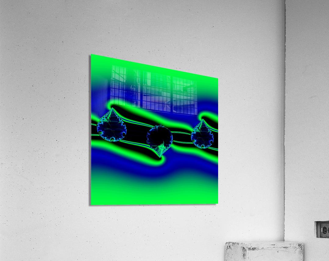 3ofSpades  Acrylic Print