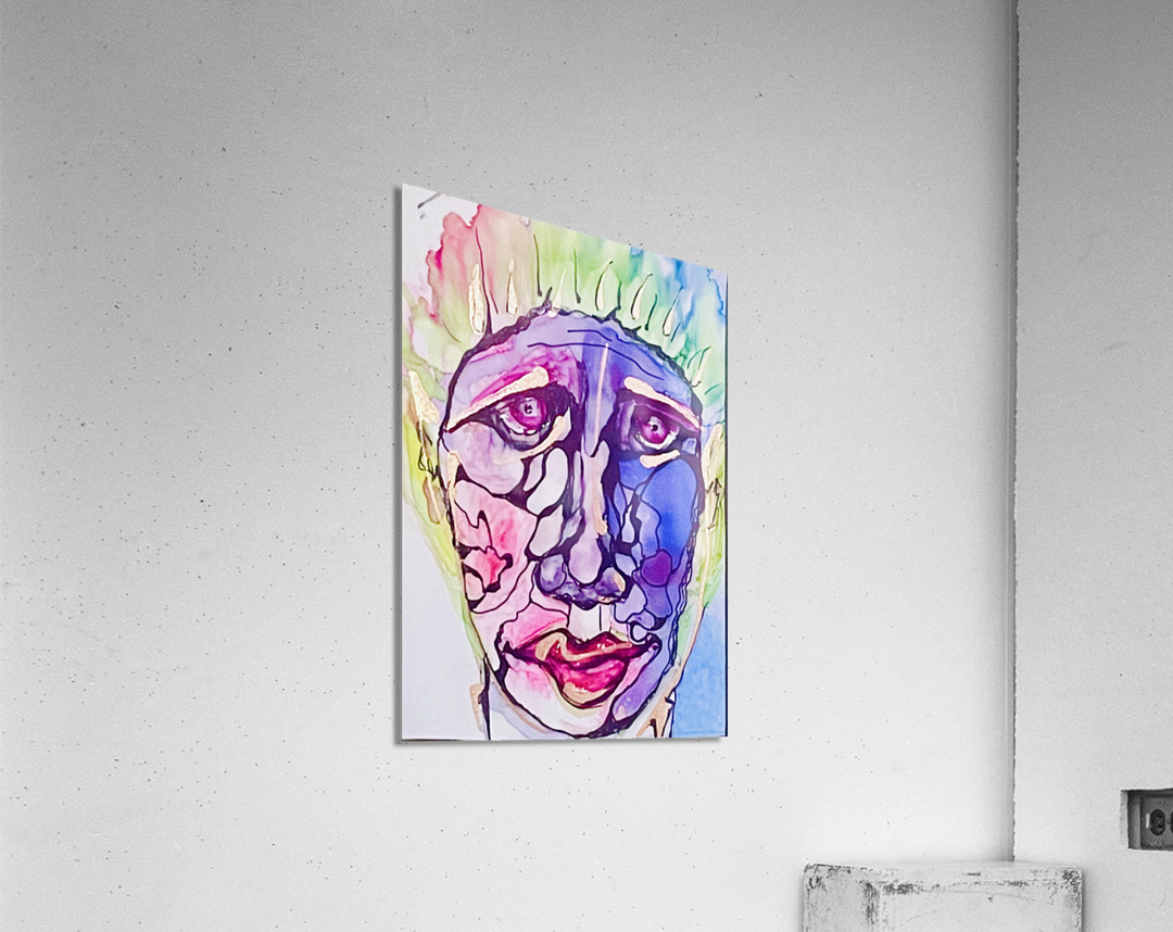Larry  Impression acrylique