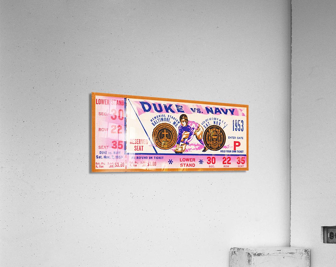 1953 Duke vs. Navy   Acrylic Print