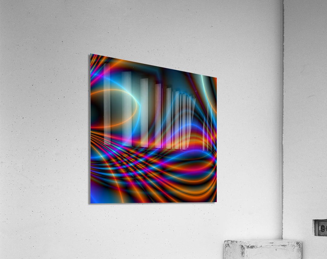 Timestrings  Acrylic Print