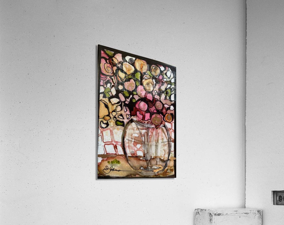 Floral Fun  Impression acrylique