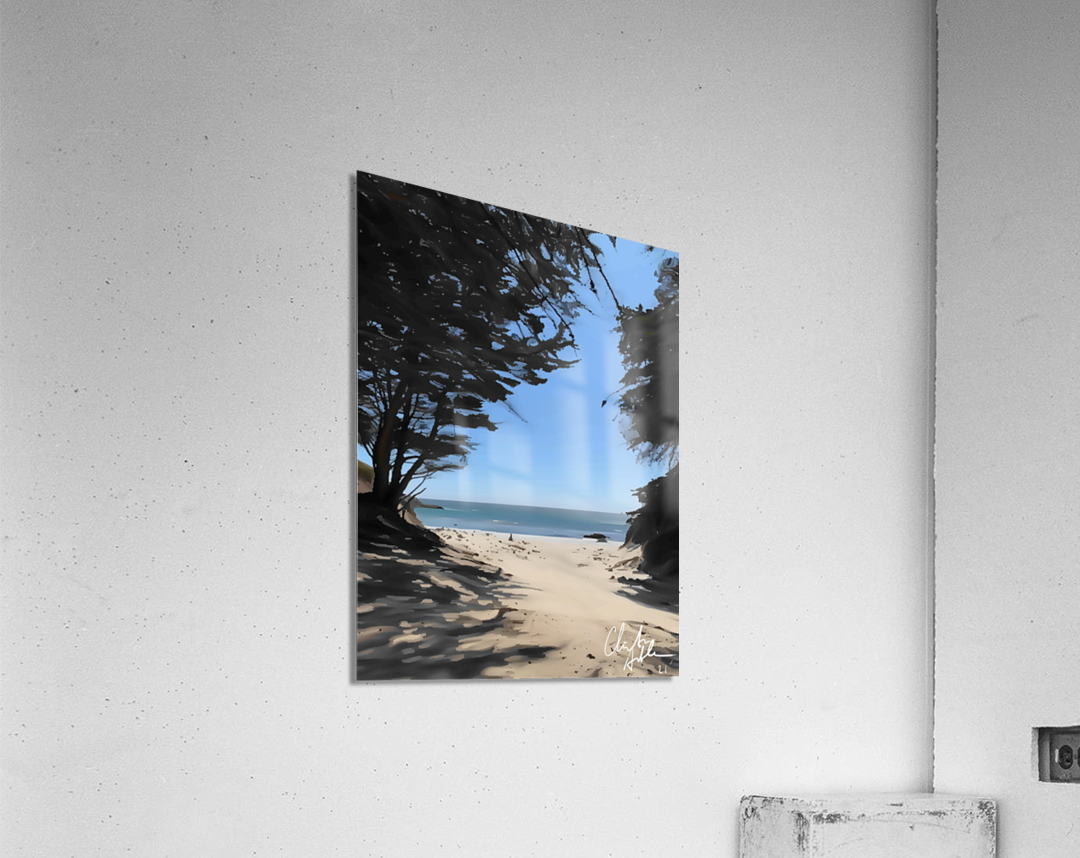 Peaceful Beach  Acrylic Print