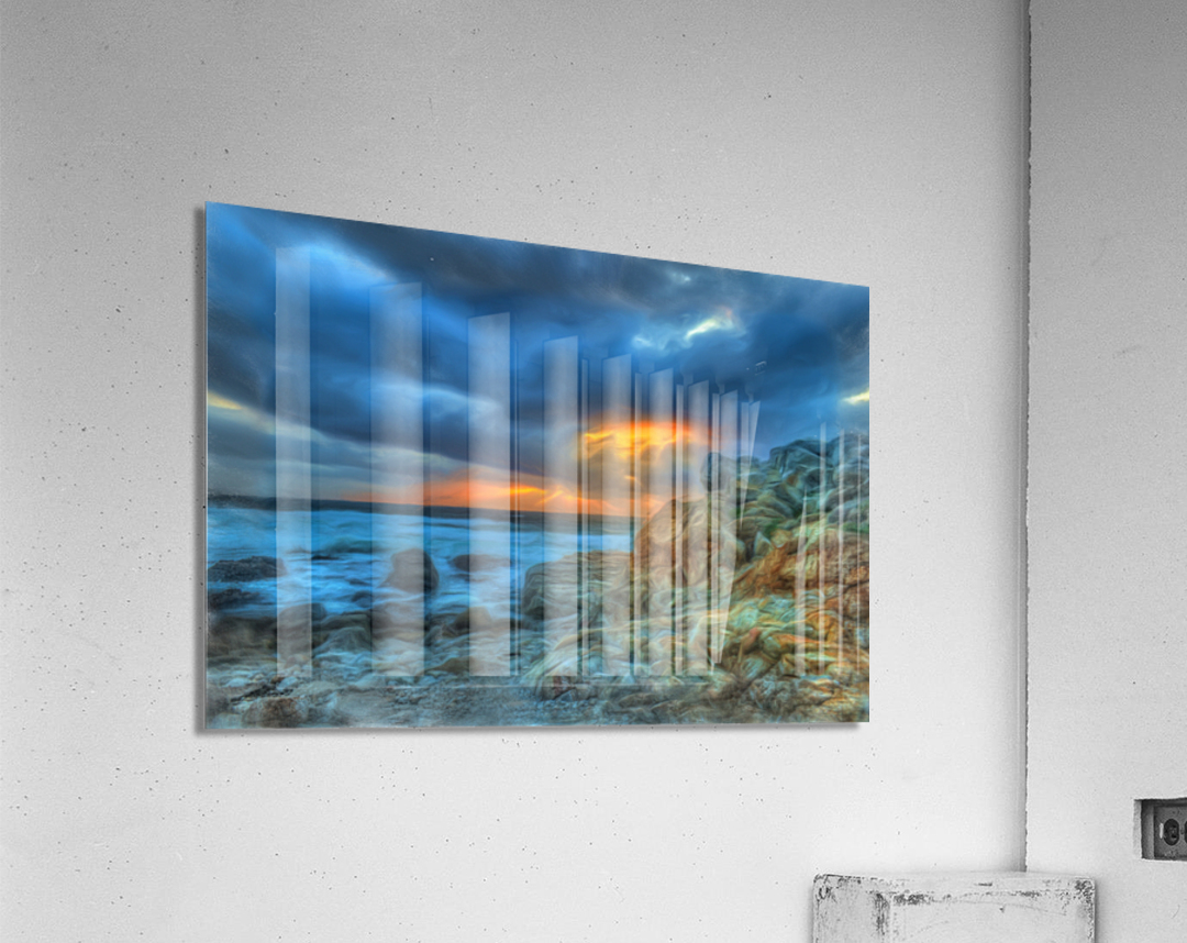 Evening Storm  Acrylic Print