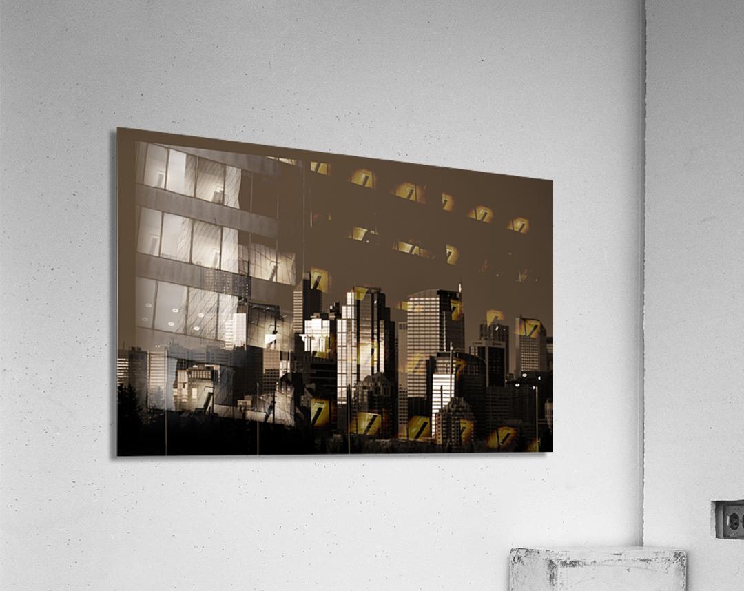 Calgary Skyline  Acrylic Print