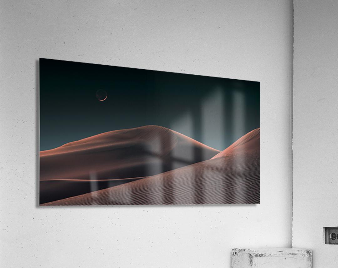 Lunar Sands  Acrylic Print