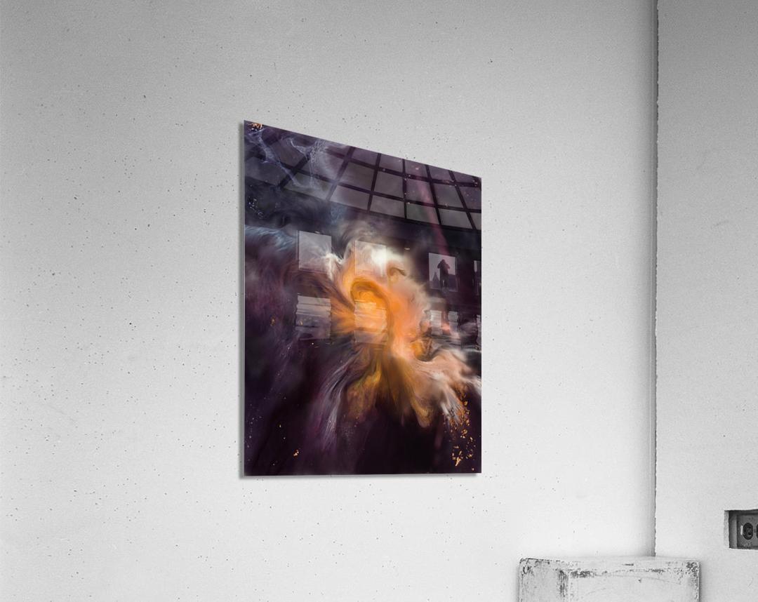 Painting The Heavens  Acrylic Print