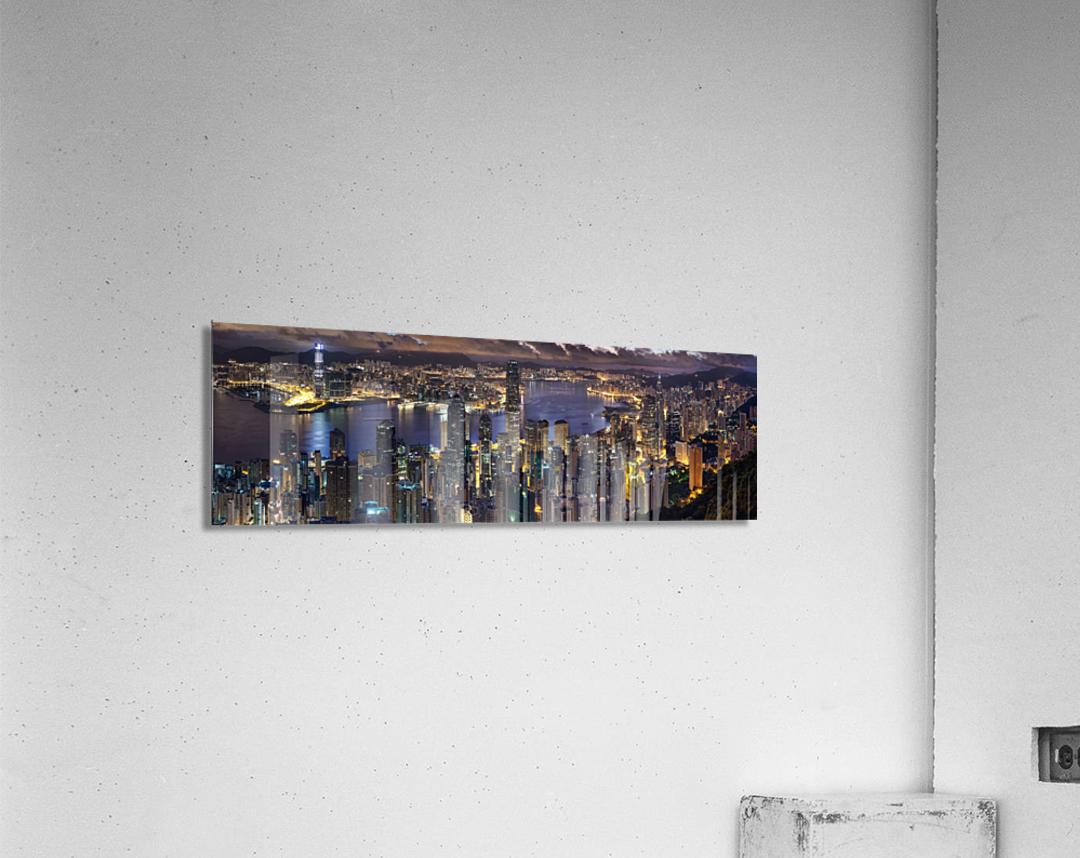 Hong Kong city   Acrylic Print
