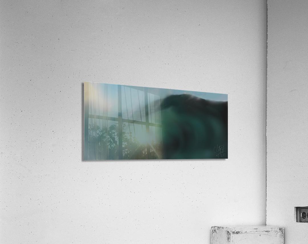 Night Wave  Acrylic Print