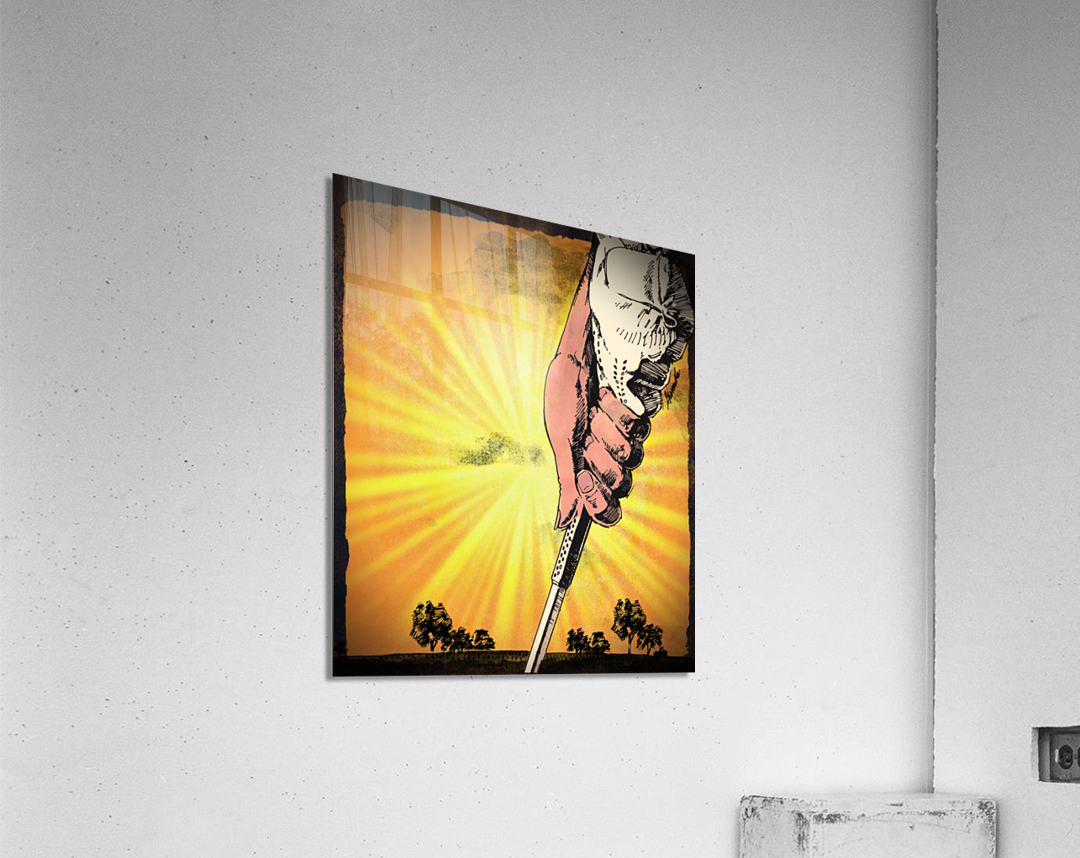 1985 Golf Art   Row 1  Acrylic Print