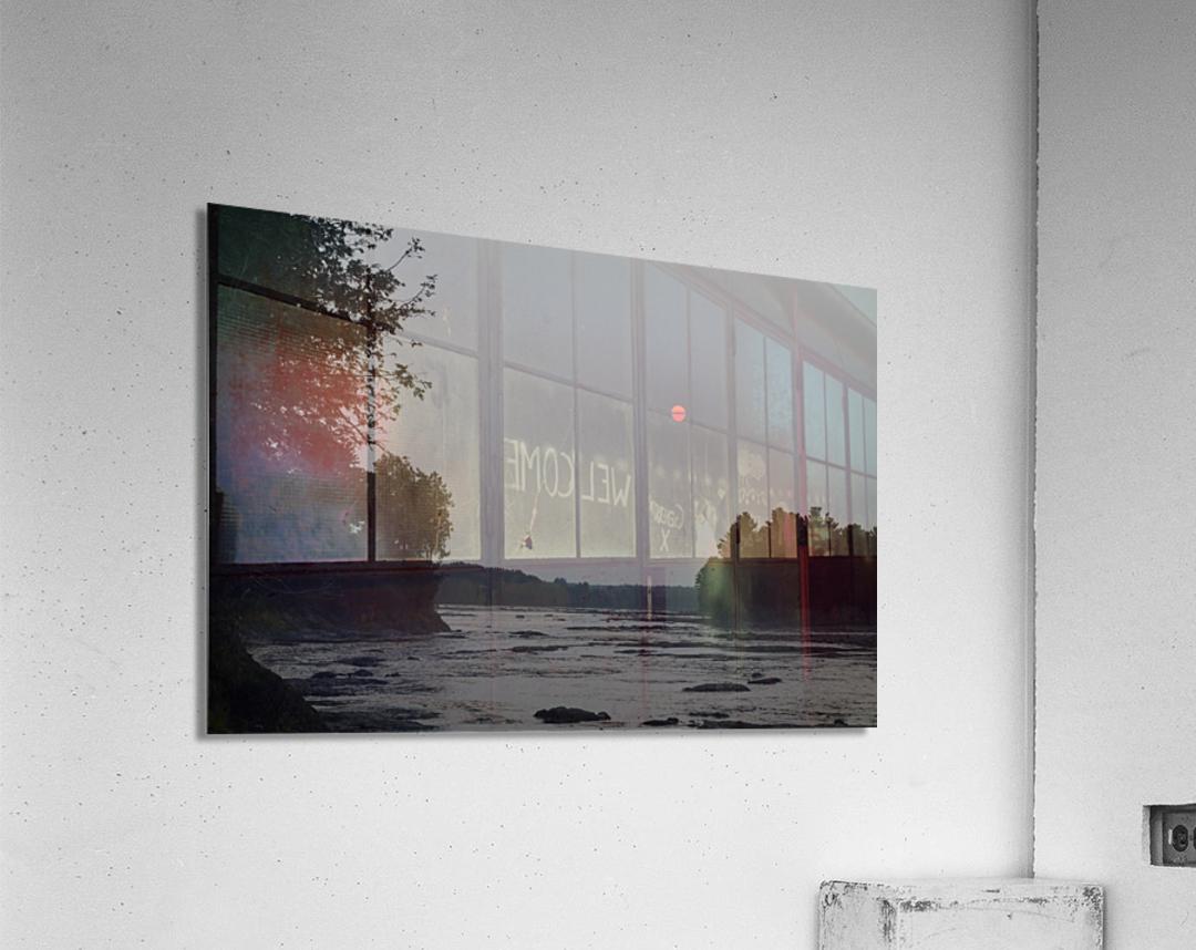 Smog  Impression acrylique