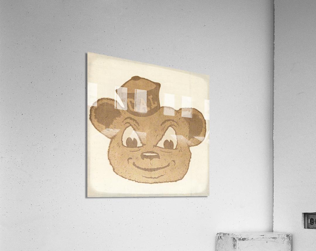 1966 Cal Bear Art | Row 1  Acrylic Print