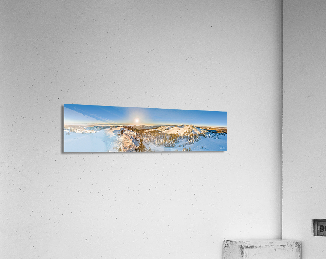 Above the Top of the World  Acrylic Print