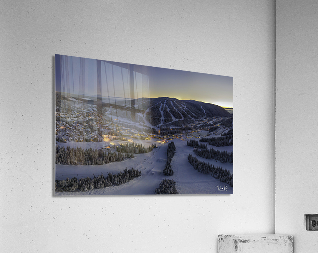 twilight jan 2020  Acrylic Print