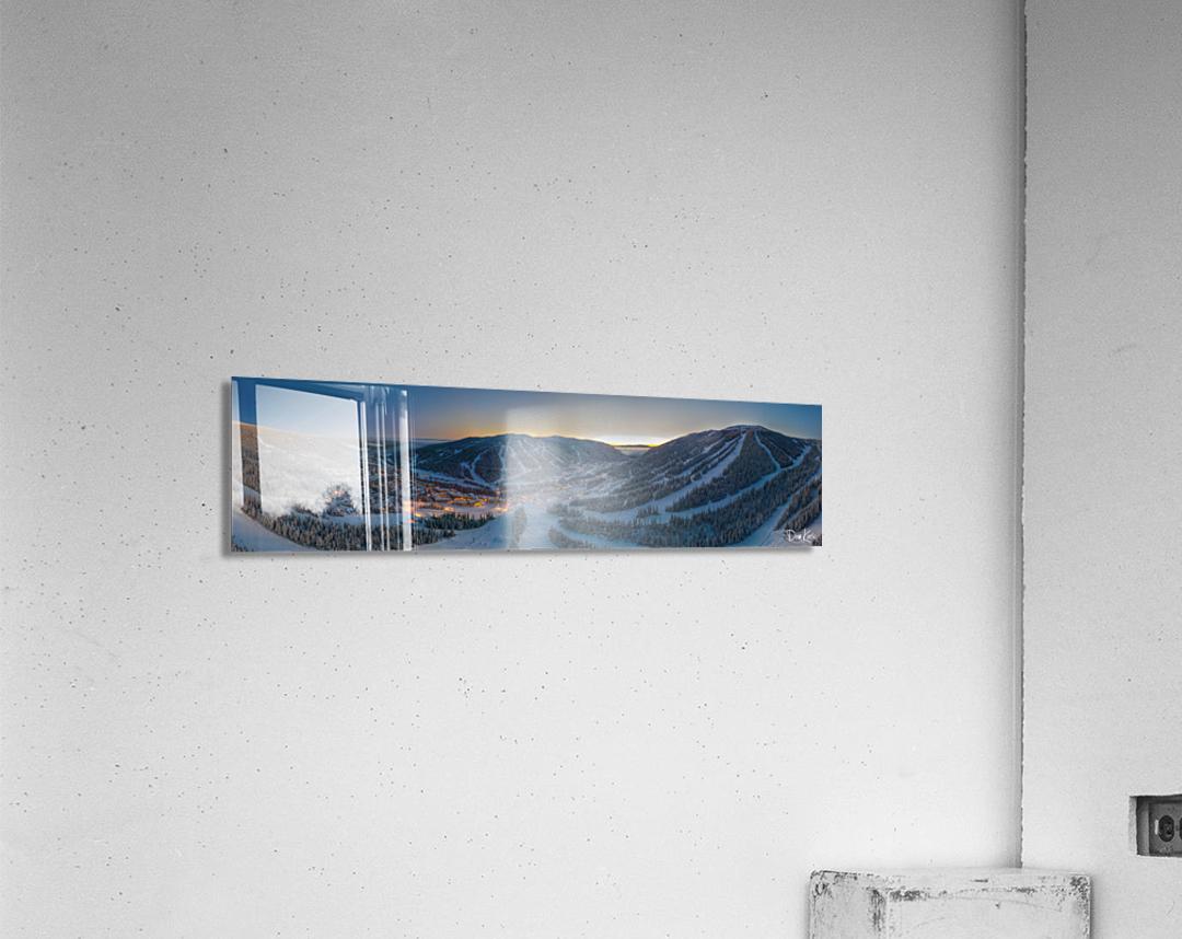 Valley Twilight   Acrylic Print