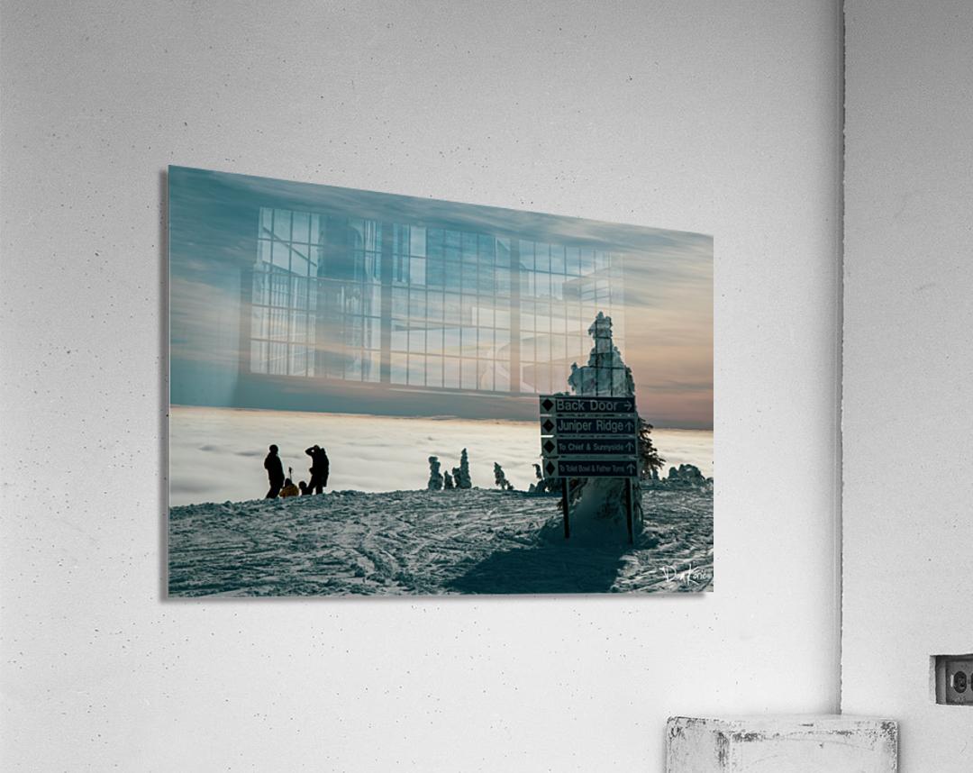 Technicolour Contemplation  Acrylic Print